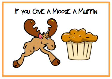 If You Give A Moose A Muffin Pages
