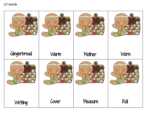 32 /r/ articulation cards from the story. Make doubles of them for ...