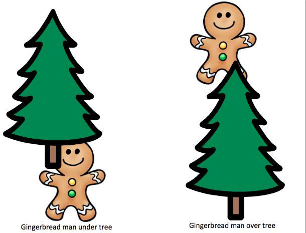 Over Under Clipart Gingerbread Man Under ...