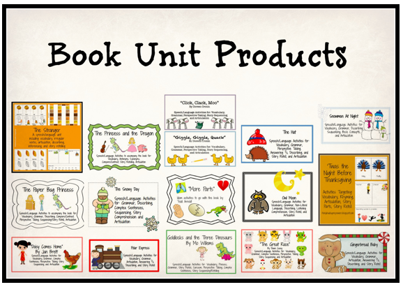 Book Unit Products by Super Power Speech