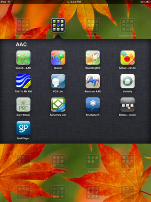 Completely free AAC apps