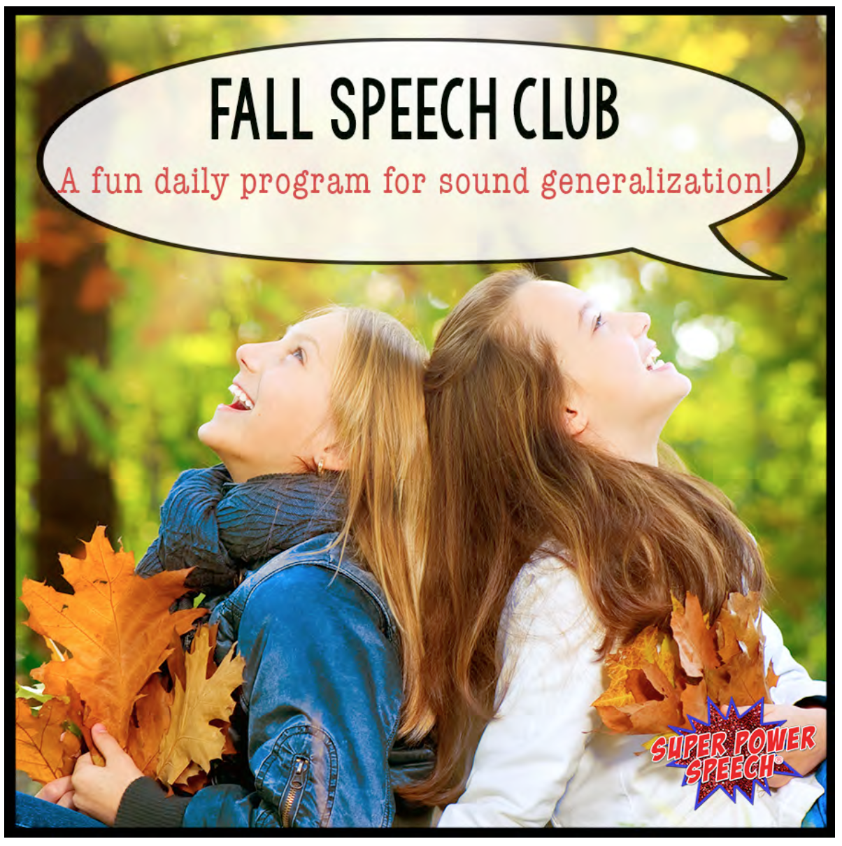 Speech Club is designed to help students with their articulation every single day!