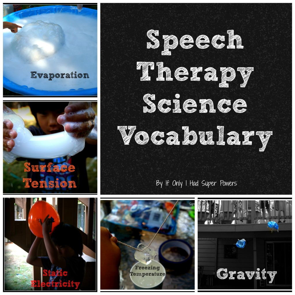 speech therapy science