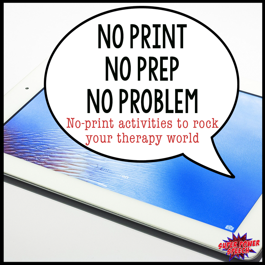No print activities will rock your world! They can be downloaded and then used in seconds. Plus they are so much fun!