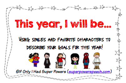 This Year, I Will Be… (Freebie)