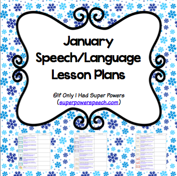 January Lesson Plans (FREE)