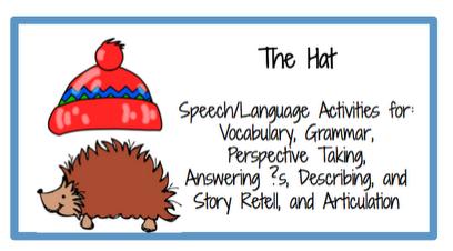 Jan Brett The Hat Activities Winter activities — super power speech