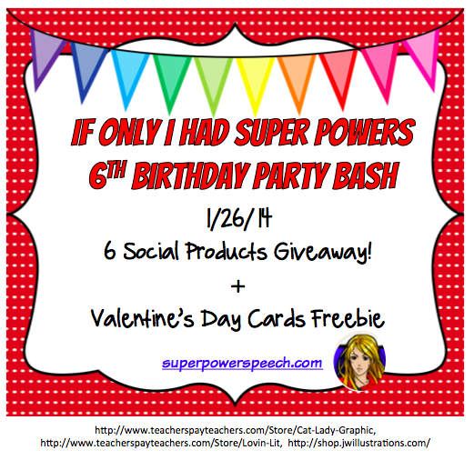 Blog Birthday Day 1: 6 Social Products Giveaway