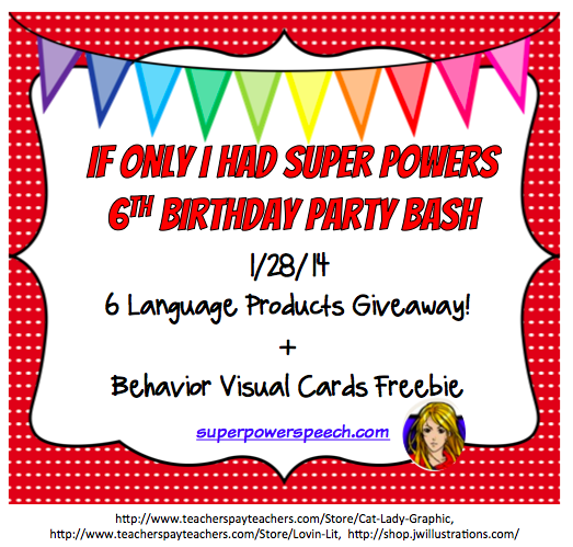 Blog Birthday Day 3: 6 Language Products Giveaway