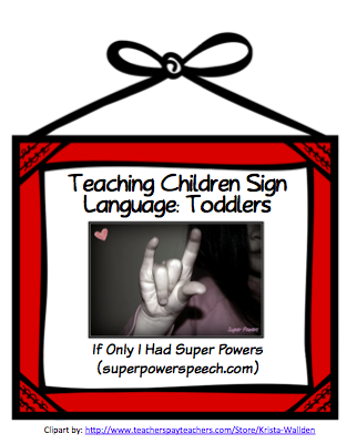 Teaching Children Sign Language: Toddlers