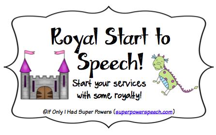 Royal Start to Speech