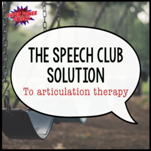 Speech Club is a systematic approach to helping articulation student practice daily, get feedback from others, and improve their speech!