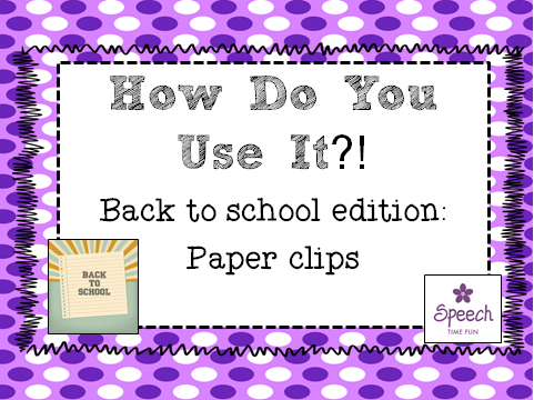 How do you use it? Paper clips!