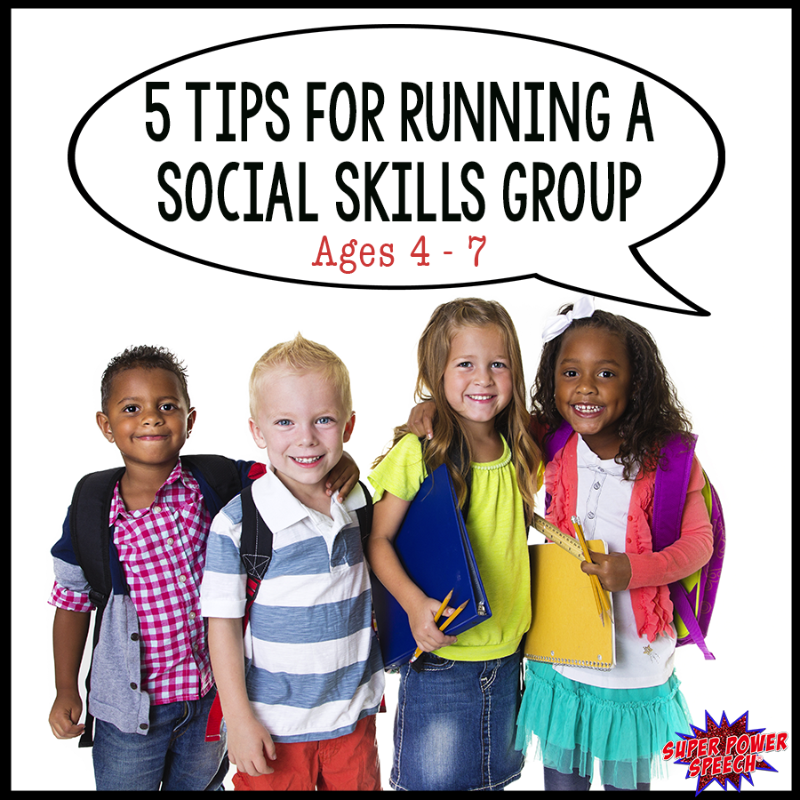 Running a social skills group for 4-7 year olds can be fun and rewarding. Make sure to read these tips before you begin!