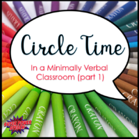 Circle Time in a Minimally Verbal Classroom #1