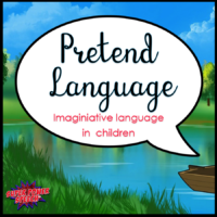Pretend Language