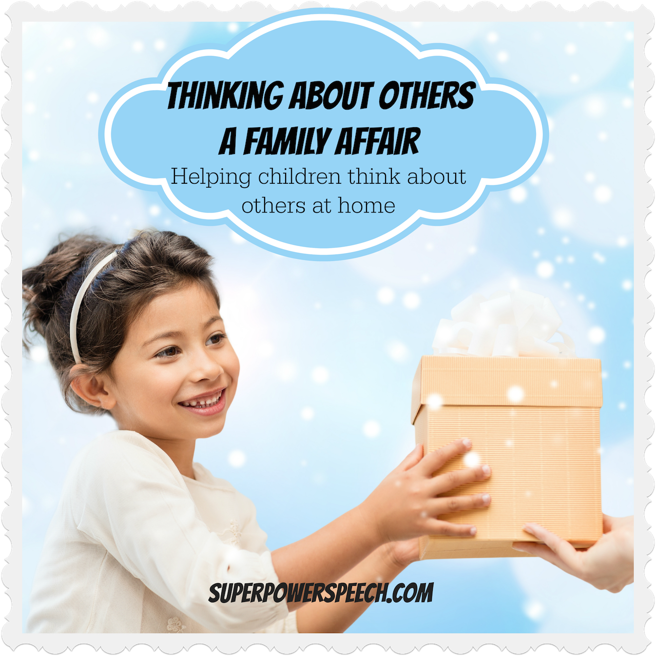 Thinking About Others – A Family Affair