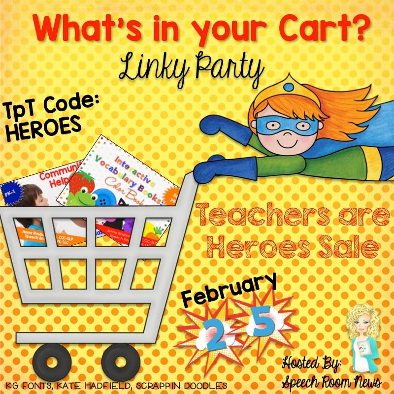 What's in Your Cart Linky Party!