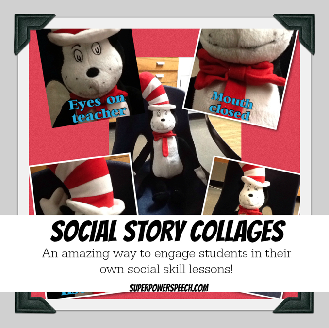 Social Story Collages