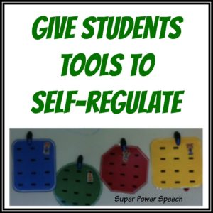 tools to self regulate