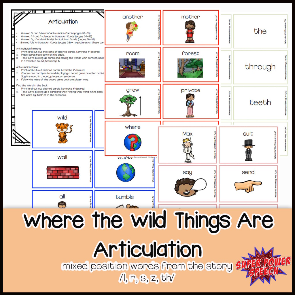 Wild Things Articulation