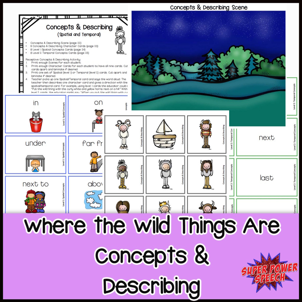 Wild Things Concepts