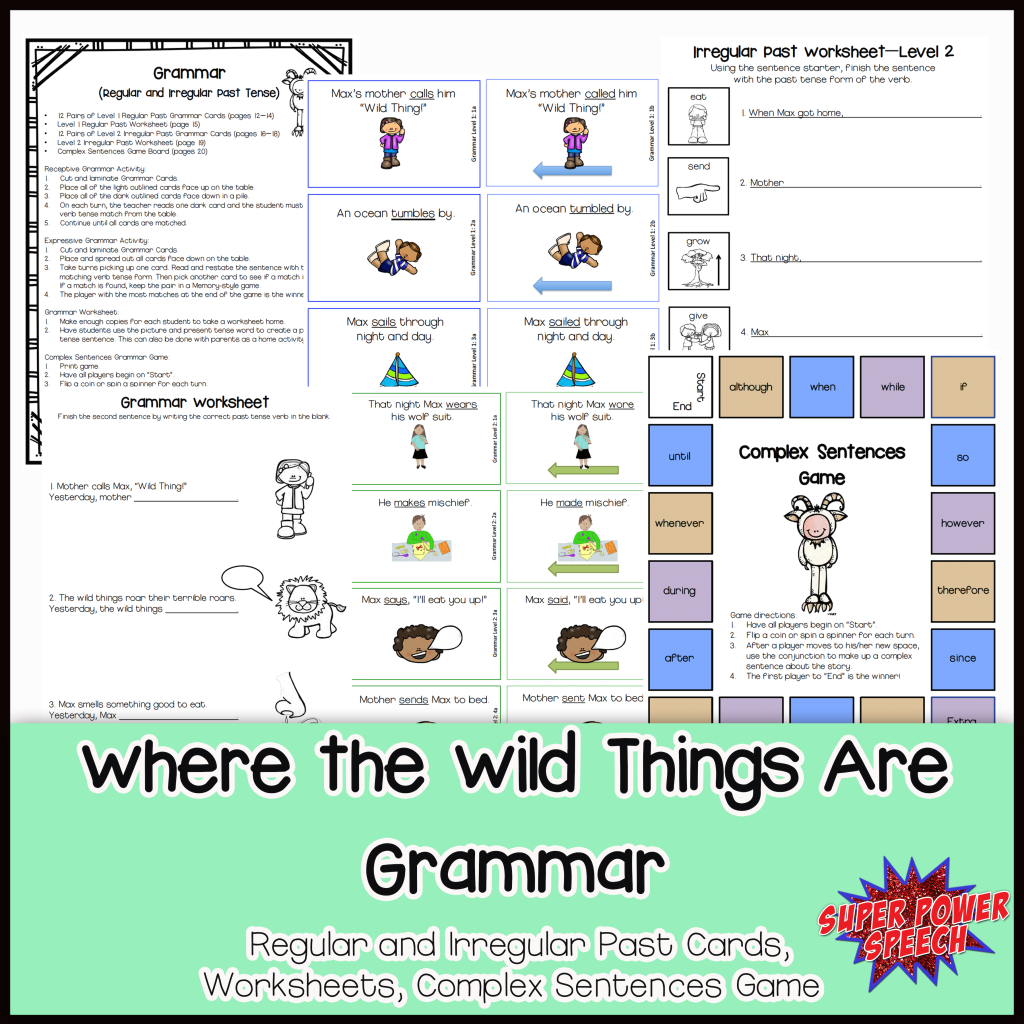 Wild Things Grammar