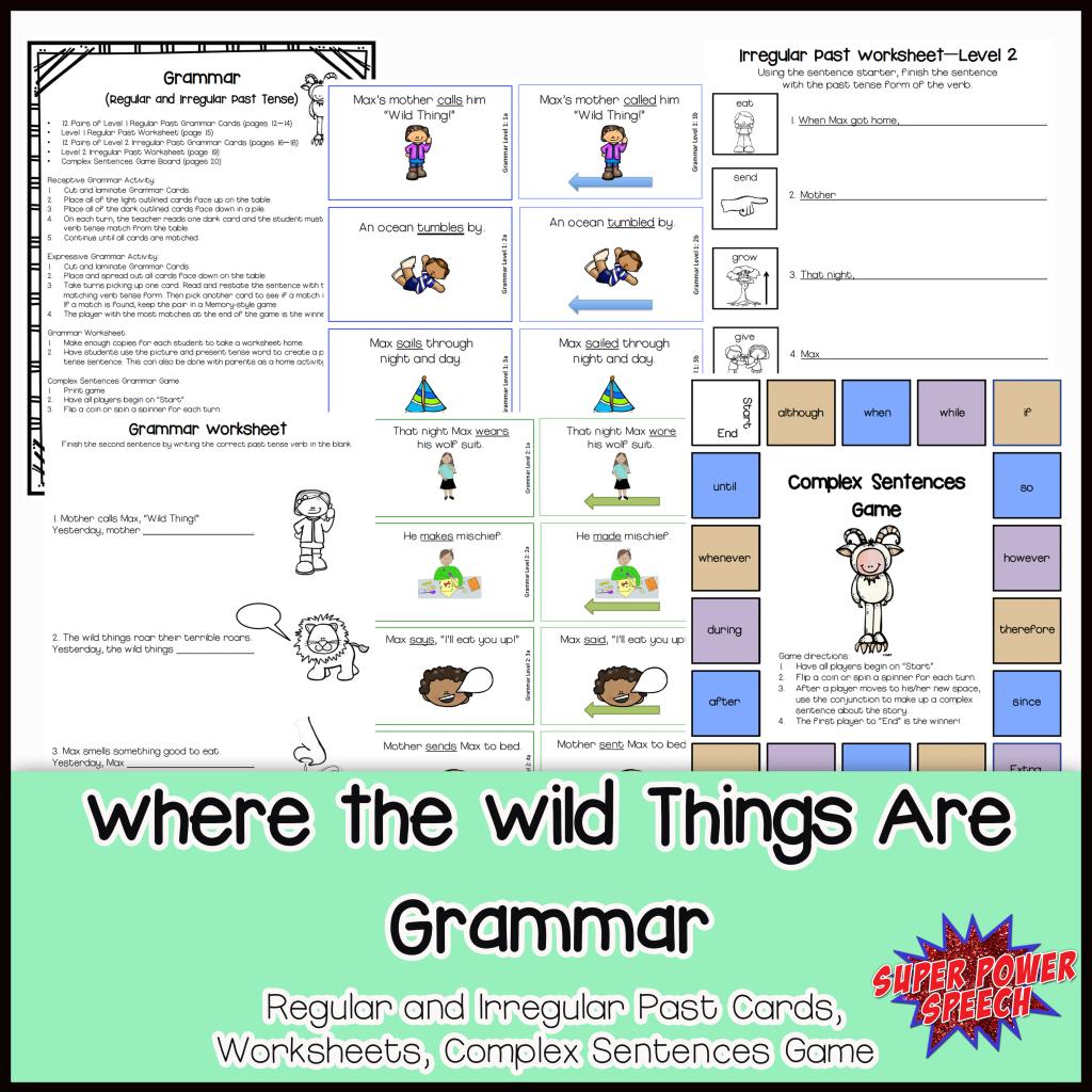 Wild Things Grammar