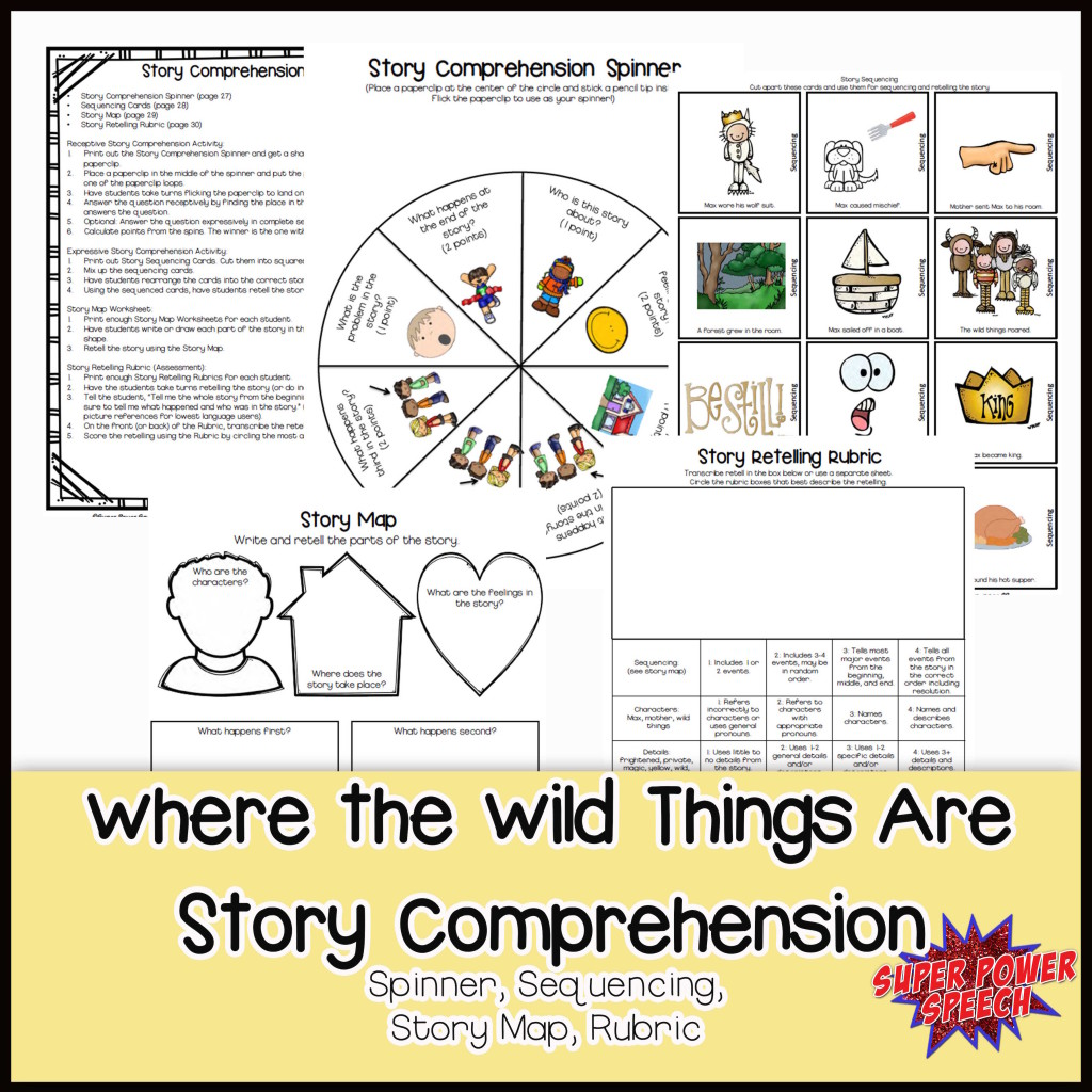 Wild things comprehension