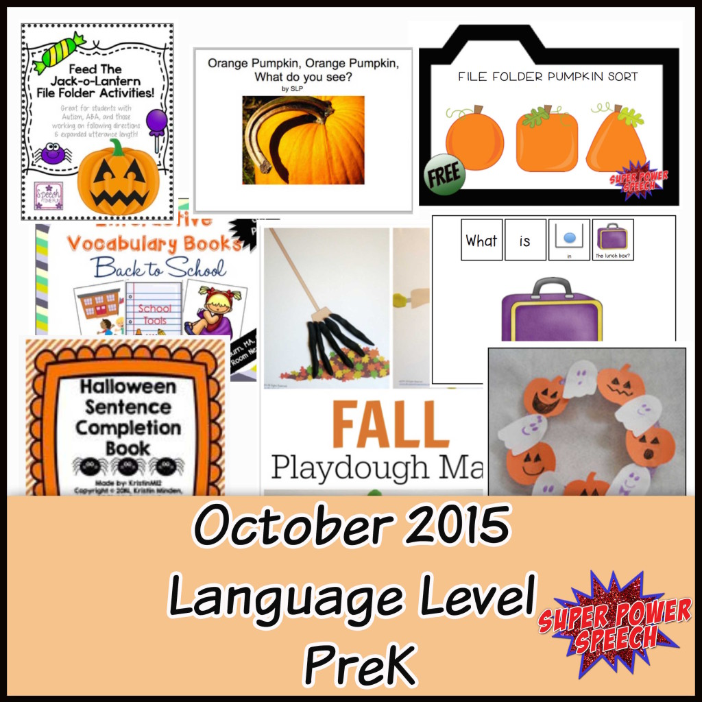 Oct Level PreK