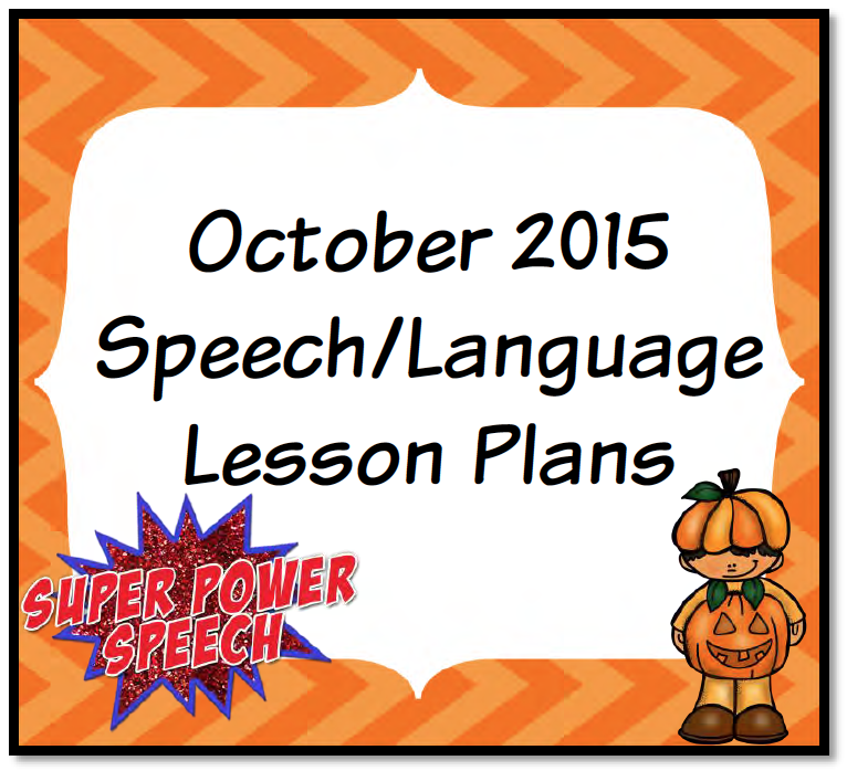 October 2015 Lesson Plans
