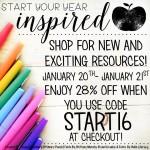 Start 2016 inspired and prepared!