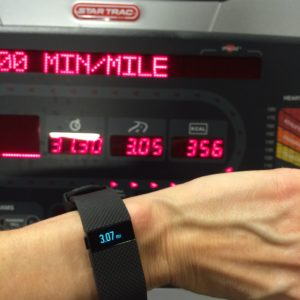 My fitness tracker is usually very accurate!