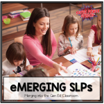 eMerging SLPs: Merging into the Classroom