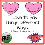 Valentine's Freebie for Blog Subscribers!