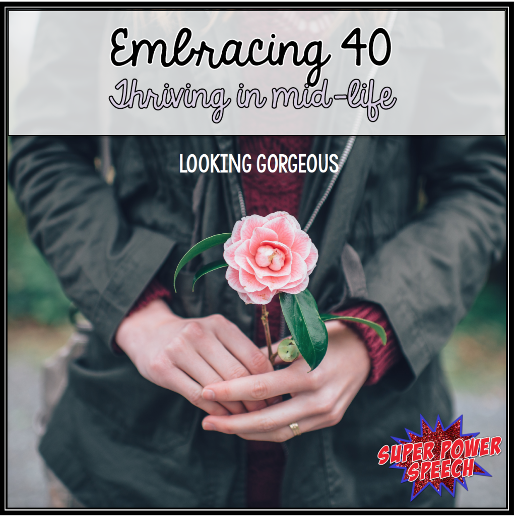 If you embrace yourself, it isn't difficult to look gorgeous in your 40s!