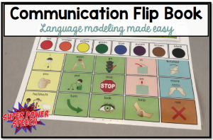 Communication Flip Book: making language modeling easier!
