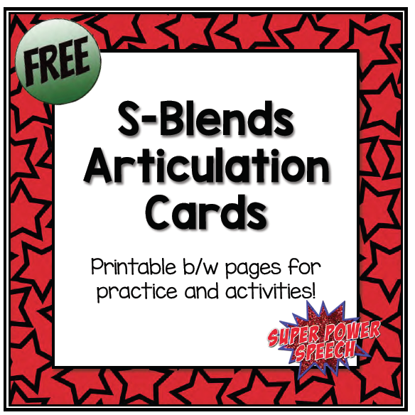 picture relating to Articulation Printable Worksheets titled Articulation Printables Backlinks Tremendous Electricity Speech