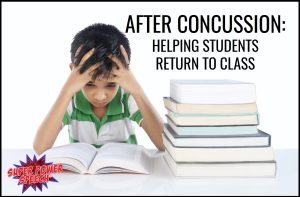 Concussions can cause physical, emotional, and cognitive challenges for students. Find out ways to help students re-enter the classroom after a mild brain injury.