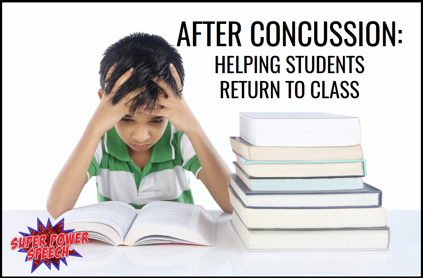 After concussion: Helping students return to class
