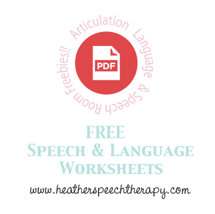 Articulation Printables Links Super Power Speech – Free Articulation Worksheets