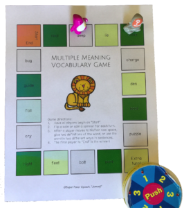 """The book """"Jumanji"""" is the perfect book to work on language and articulation for many students!"""
