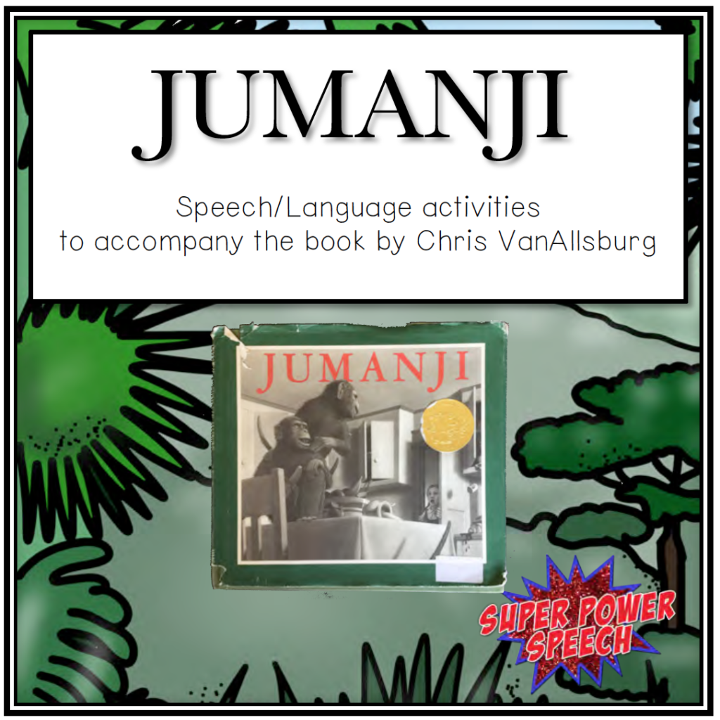 Jumanji makes for the perfect tool to teach students language and articulation skills!