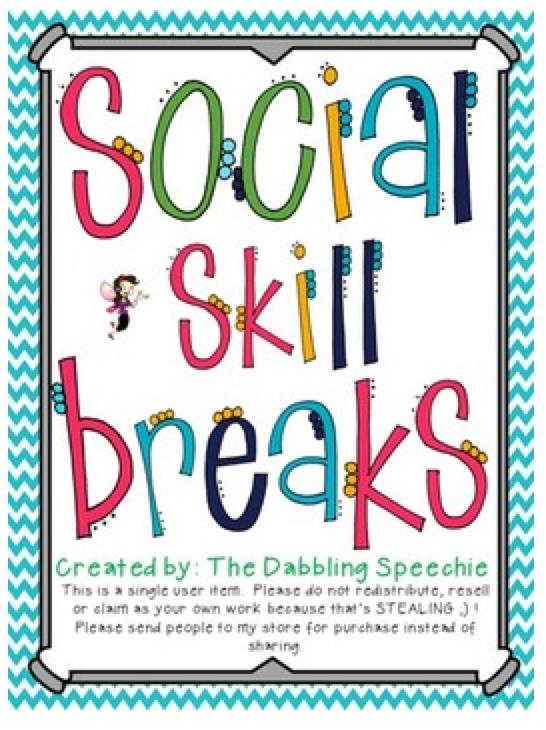 Social Skill Breaks