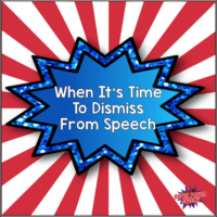 When It's Time to Dismiss From Speech