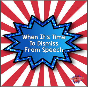 When It's Time to Dismiss From Speech- guidelines and advice