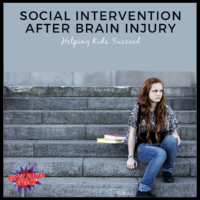 Social intervention after brain injury