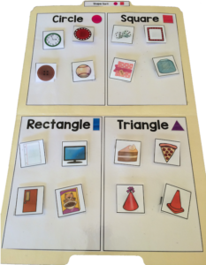 Sort by 4s is a fun, easy way to learn categorization (and so much more!!!)