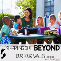 Stepping beyond our four walls– co-teaching social skills