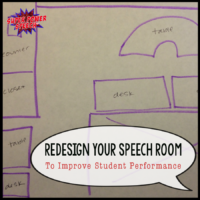 Redesign your speech room to improve student focus